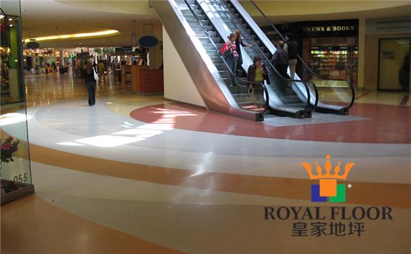 商场超市环氧彩砂地坪